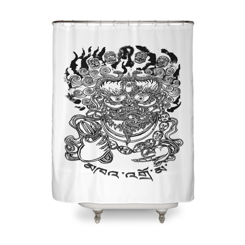 Dakini  Home Shower Curtain by  SAMSKARA