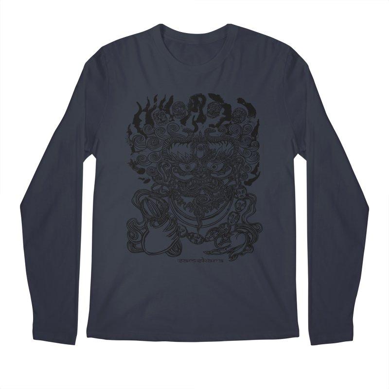Dakini S Men's Regular Longsleeve T-Shirt by  SAMSKARA