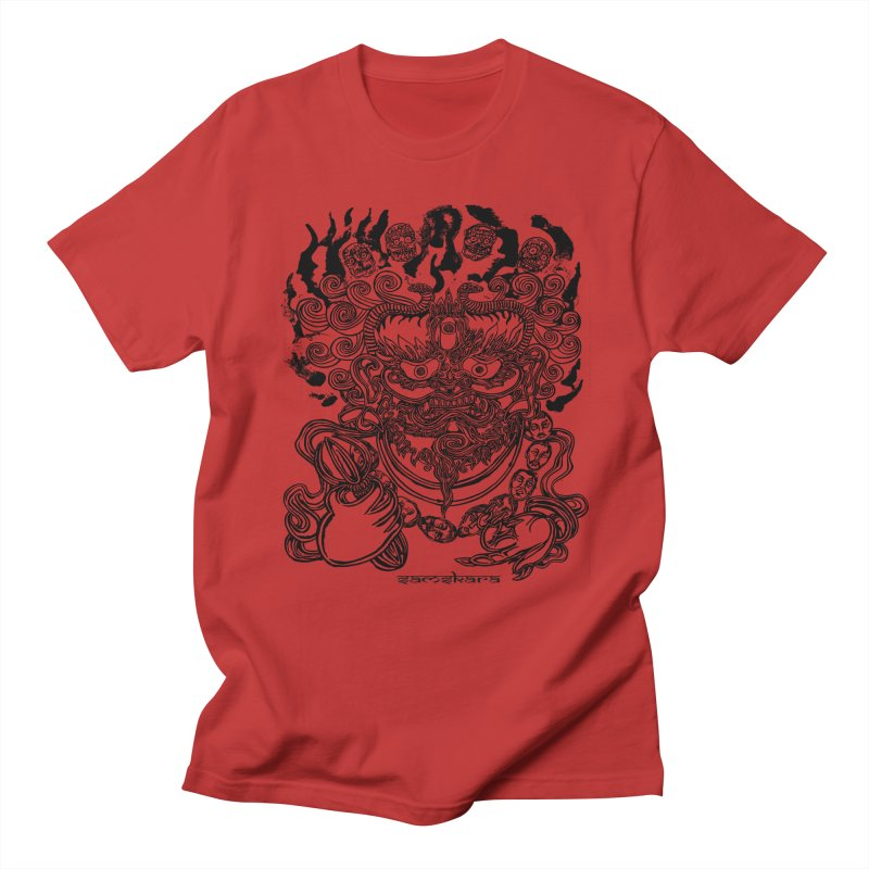 Dakini S Men's T-Shirt by  SAMSKARA