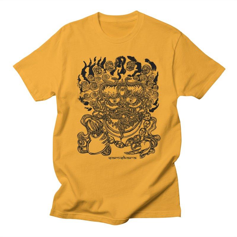 Dakini S Men's Regular T-Shirt by  SAMSKARA