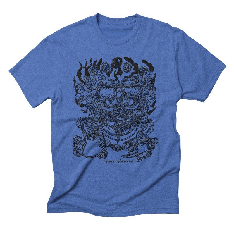 Dakini S Men's Triblend T-shirt by  SAMSKARA