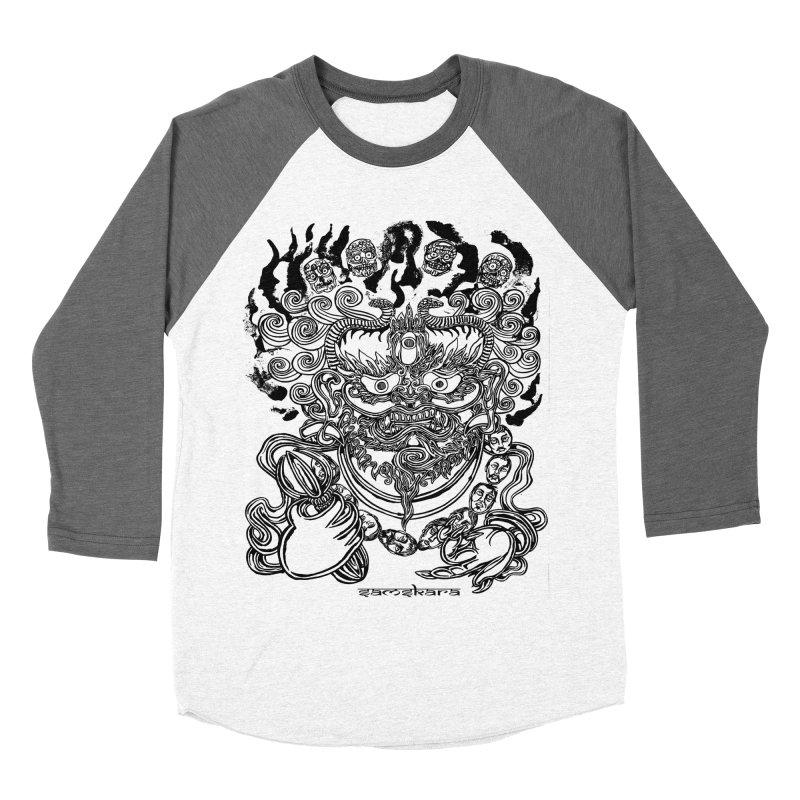 Dakini S Women's Baseball Triblend T-Shirt by  SAMSKARA