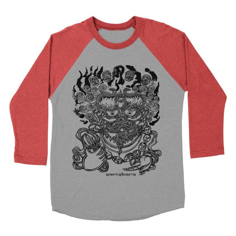 Dakini S Men's Baseball Triblend Longsleeve T-Shirt by  SAMSKARA