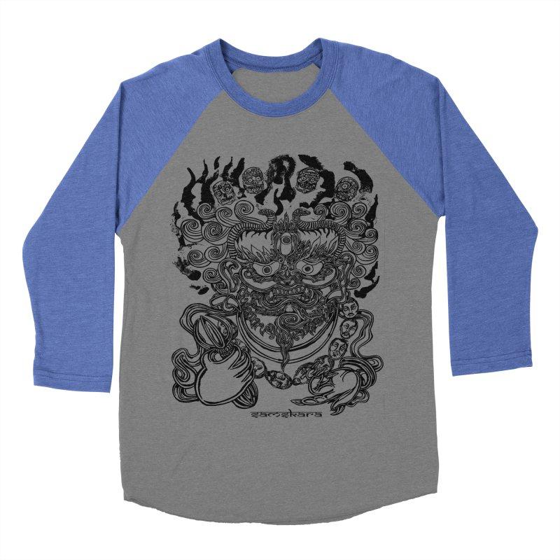Dakini S Men's Baseball Triblend T-Shirt by  SAMSKARA