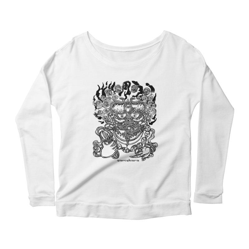 Dakini S Women's Scoop Neck Longsleeve T-Shirt by  SAMSKARA