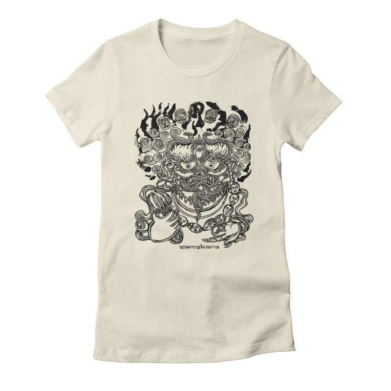 Dakini S Women's Fitted T-Shirt by  SAMSKARA