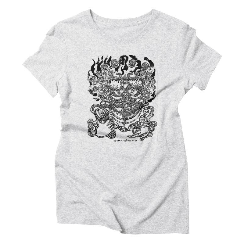 Dakini S Women's Triblend T-Shirt by  SAMSKARA