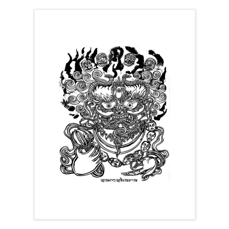 Dakini S Home Fine Art Print by  SAMSKARA