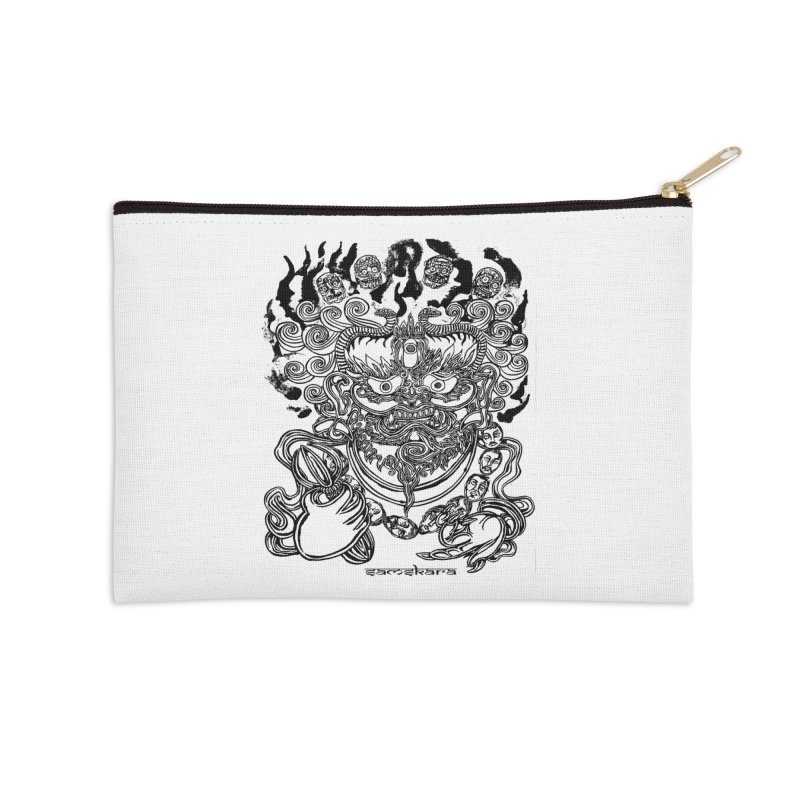 Dakini S Accessories Zip Pouch by  SAMSKARA