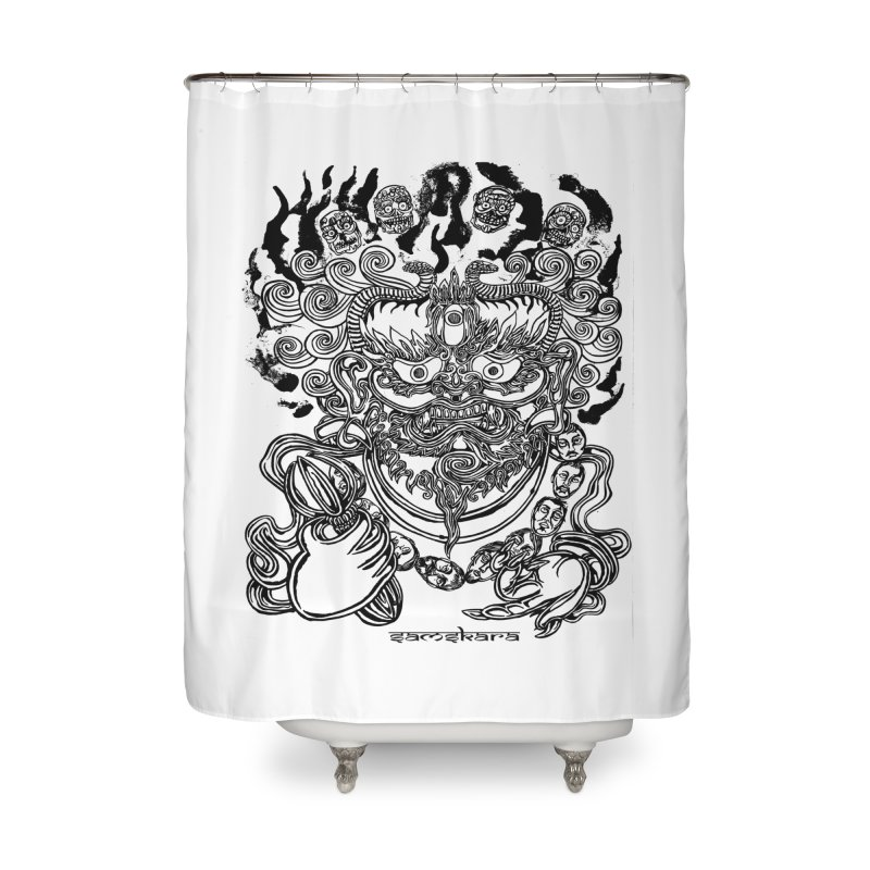 Dakini S Home Shower Curtain by  SAMSKARA