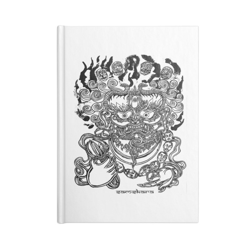 Dakini S Accessories Lined Journal Notebook by  SAMSKARA