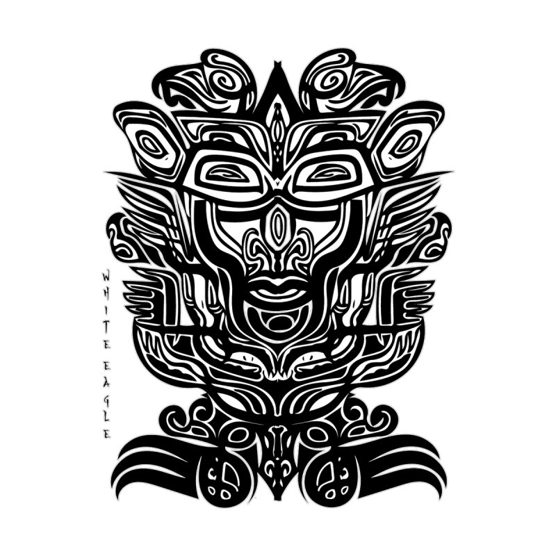 TOTEM (TRIBAL LINEAR ) SERIES Kids T-Shirt by  SAMSKARA