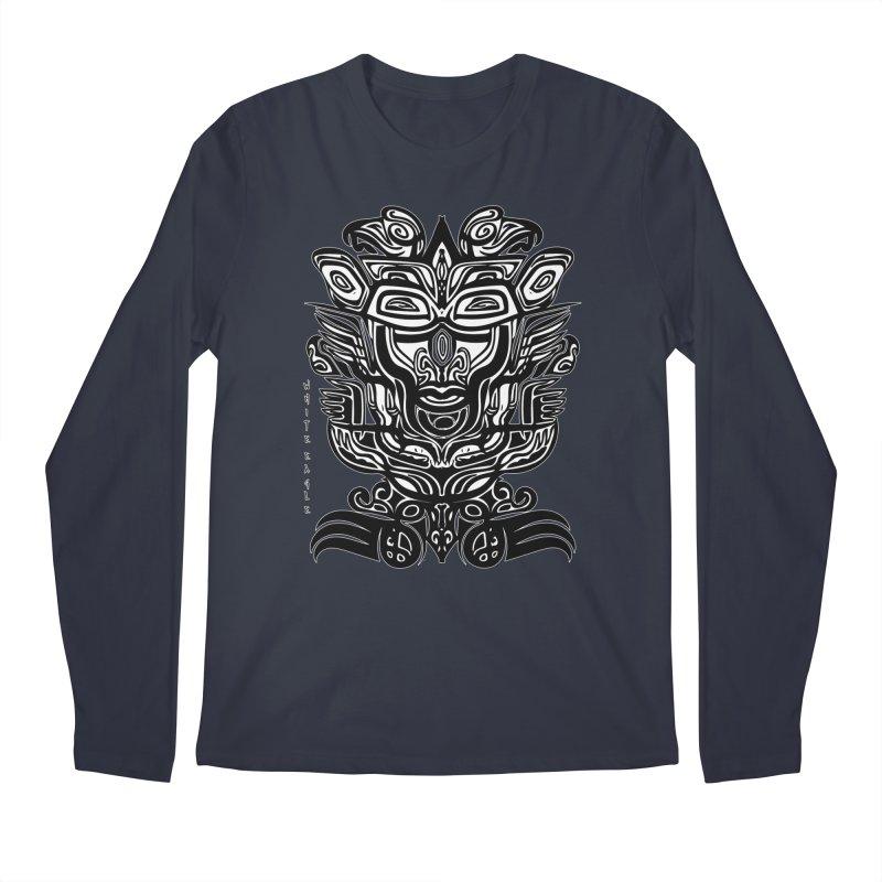 TOTEM (TRIBAL LINEAR ) SERIES Men's Longsleeve T-Shirt by  SAMSKARA