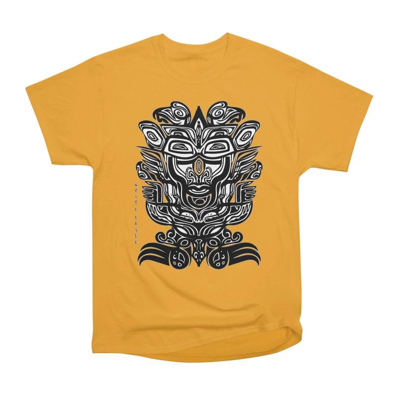 TOTEM (TRIBAL LINEAR ) SERIES Men's Heavyweight T-Shirt by  SAMSKARA