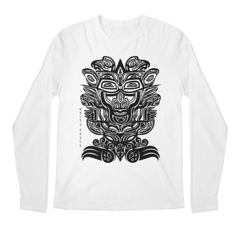 TOTEM (TRIBAL LINEAR ) SERIES Men's Regular Longsleeve T-Shirt by  SAMSKARA