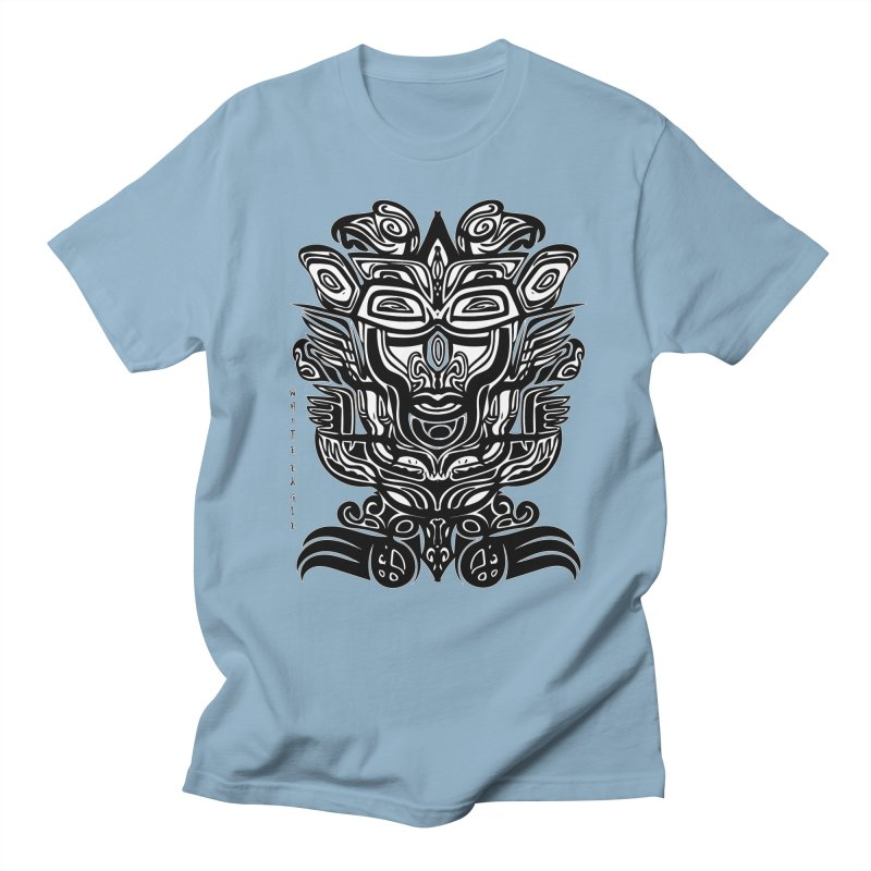 TOTEM (TRIBAL LINEAR ) SERIES Men's Regular T-Shirt by  SAMSKARA