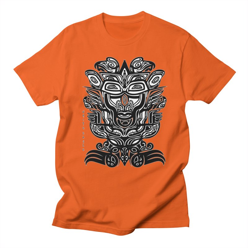 TOTEM (TRIBAL LINEAR ) SERIES Men's T-Shirt by  SAMSKARA