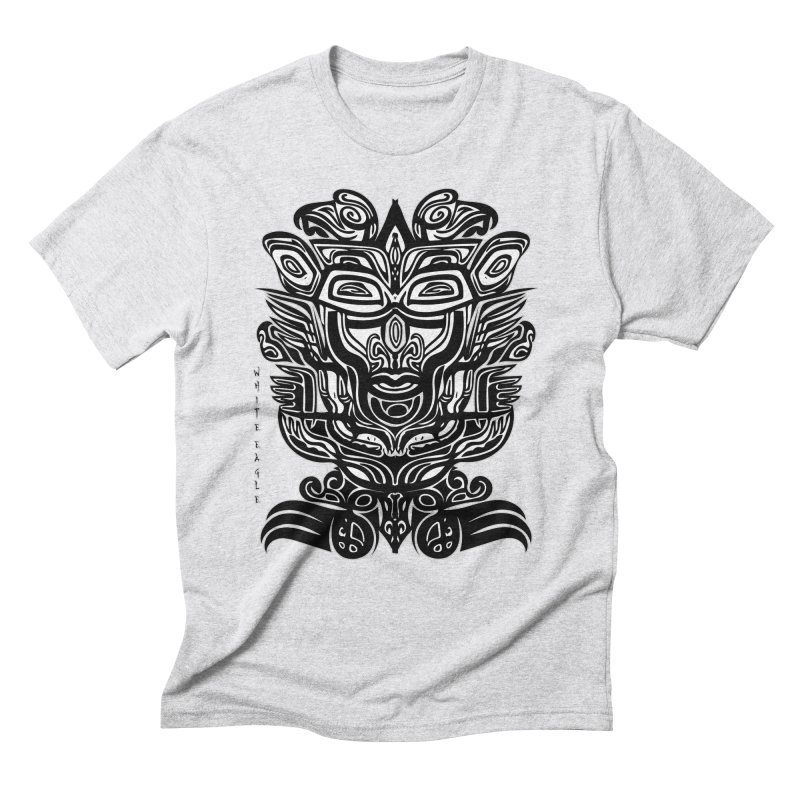 TOTEM (TRIBAL LINEAR ) SERIES Men's Triblend T-Shirt by  SAMSKARA