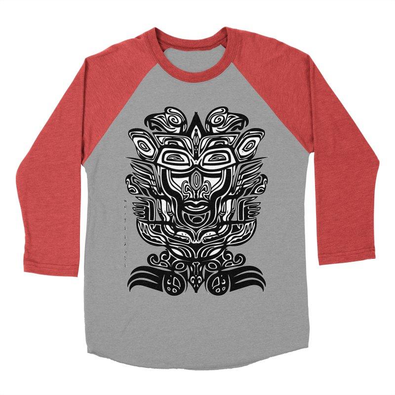 TOTEM (TRIBAL LINEAR ) SERIES Men's Baseball Triblend Longsleeve T-Shirt by  SAMSKARA