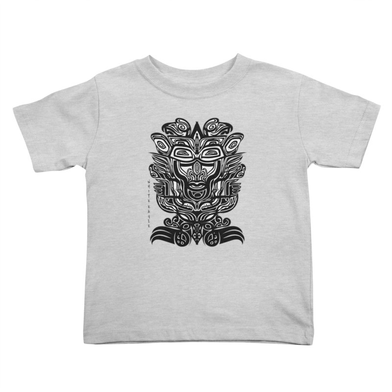 TOTEM (TRIBAL LINEAR ) SERIES Kids Toddler T-Shirt by  SAMSKARA