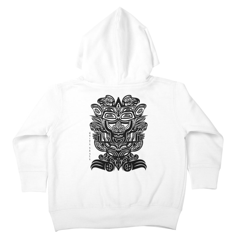 TOTEM (TRIBAL LINEAR ) SERIES Kids Toddler Zip-Up Hoody by  SAMSKARA