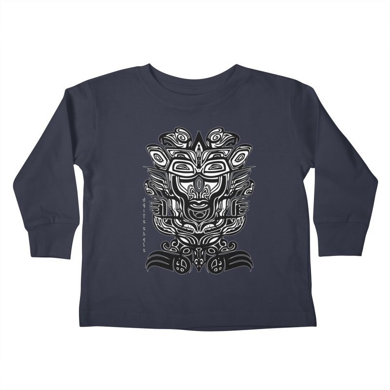 TOTEM (TRIBAL LINEAR ) SERIES Kids Toddler Longsleeve T-Shirt by  SAMSKARA