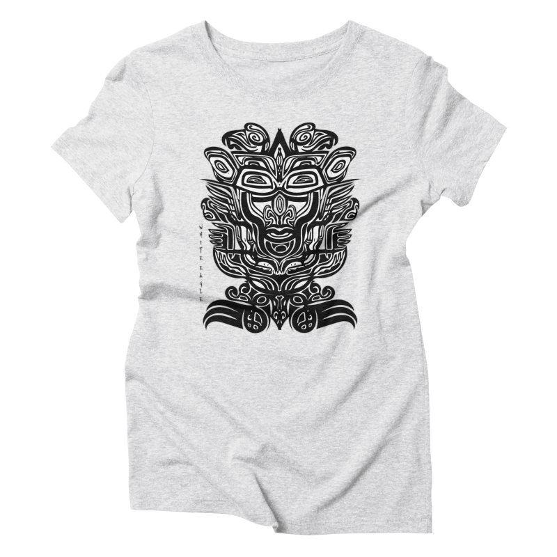 TOTEM (TRIBAL LINEAR ) SERIES Women's Triblend T-Shirt by  SAMSKARA