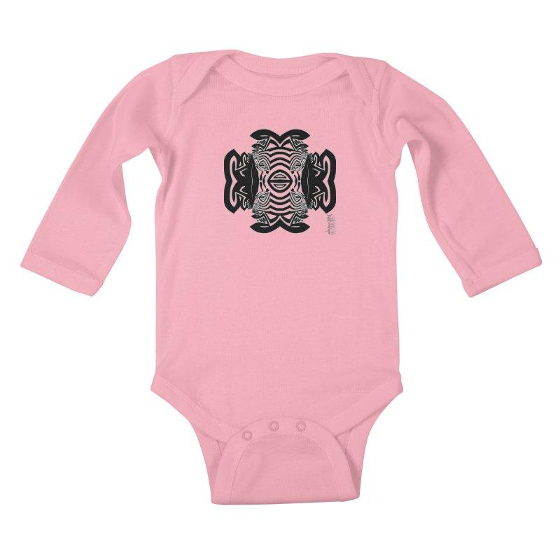Yolk Of The Universe Kids Baby Longsleeve Bodysuit by  SAMSKARA