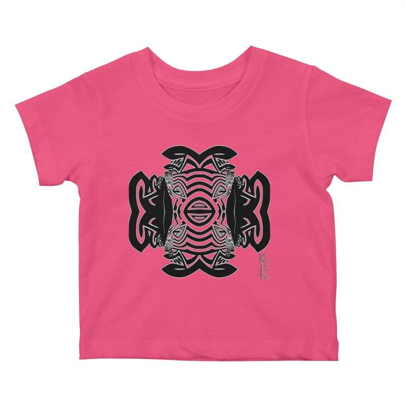 Yolk Of The Universe Kids Baby T-Shirt by  SAMSKARA