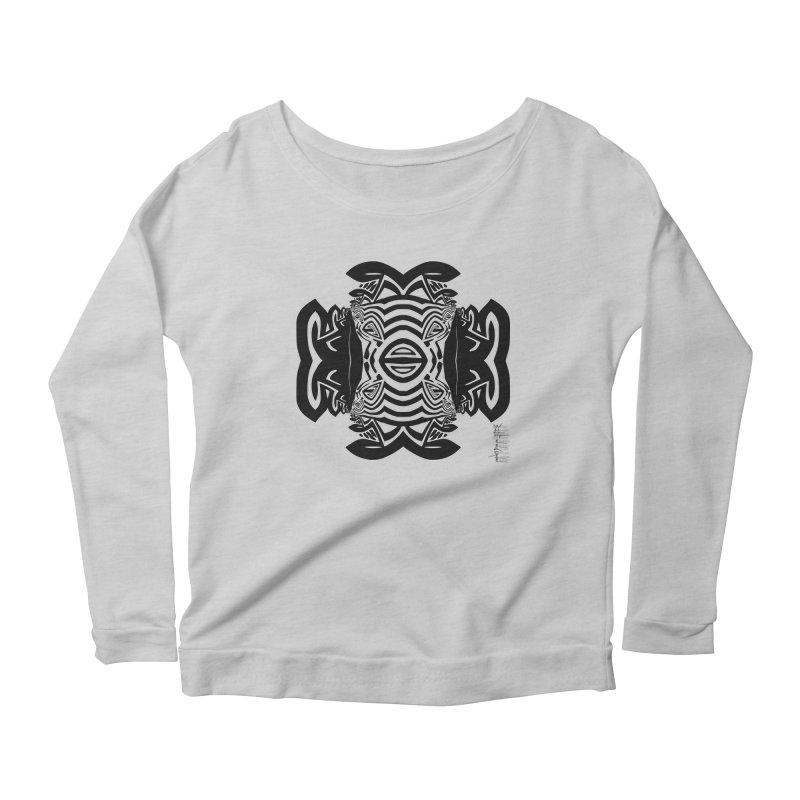 Yolk Of The Universe Women's Longsleeve Scoopneck  by  SAMSKARA