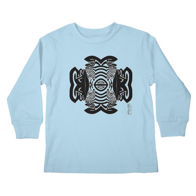 Yolk Of The Universe Kids Longsleeve T-Shirt by  SAMSKARA