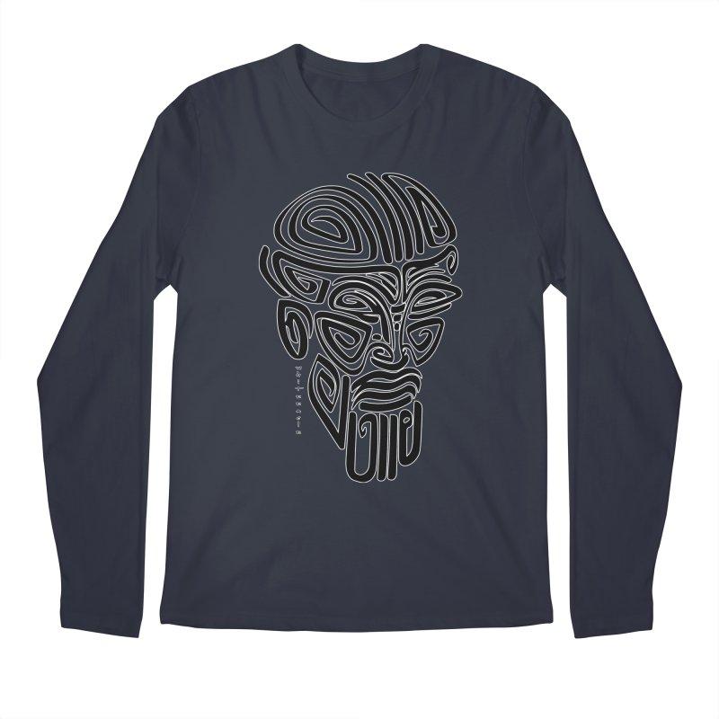 TRIBAL LINEAR Men's Regular Longsleeve T-Shirt by  SAMSKARA