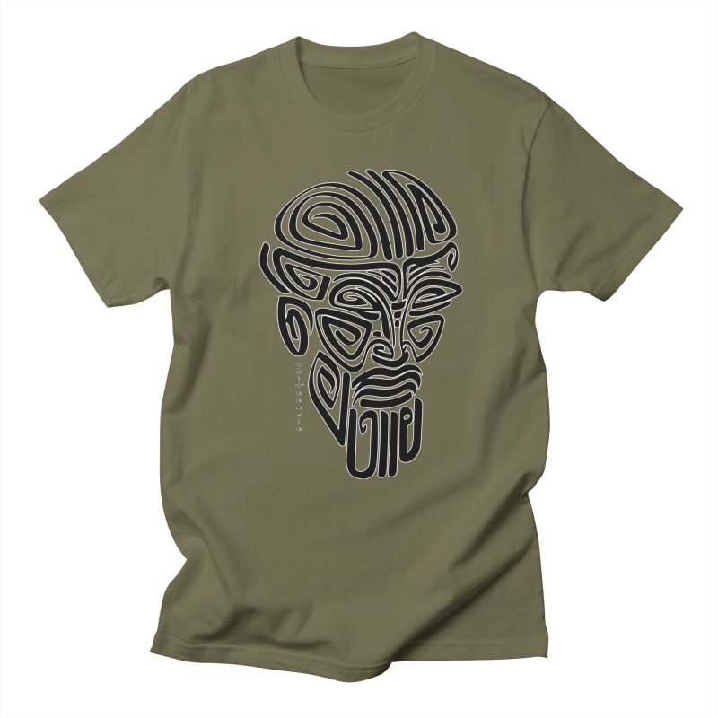 TRIBAL LINEAR Men's T-Shirt by  SAMSKARA