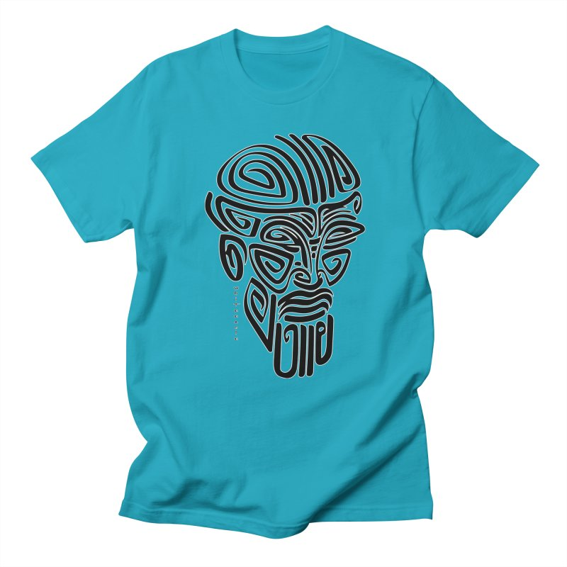 TRIBAL LINEAR Men's Regular T-Shirt by  SAMSKARA