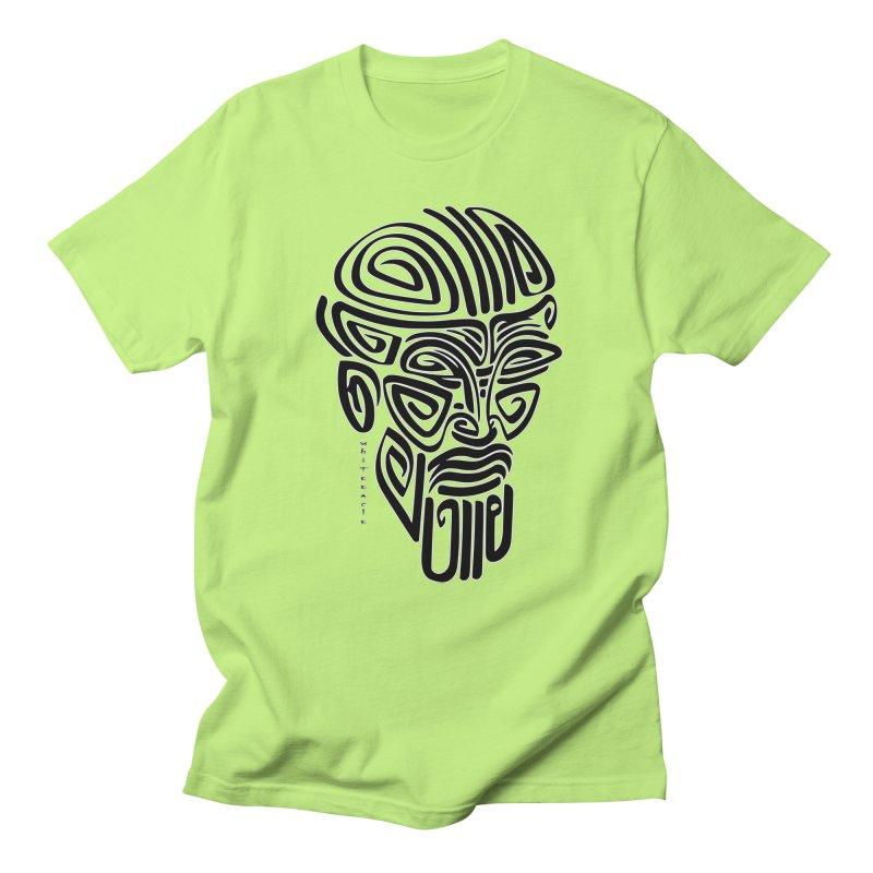TRIBAL LINEAR Women's Regular Unisex T-Shirt by  SAMSKARA