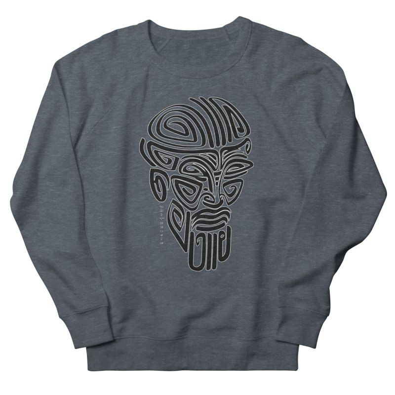 TRIBAL LINEAR Women's French Terry Sweatshirt by  SAMSKARA
