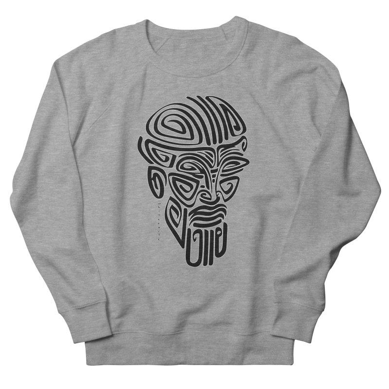 TRIBAL LINEAR Women's French Terry Sweatshirt by  SAMSKARA