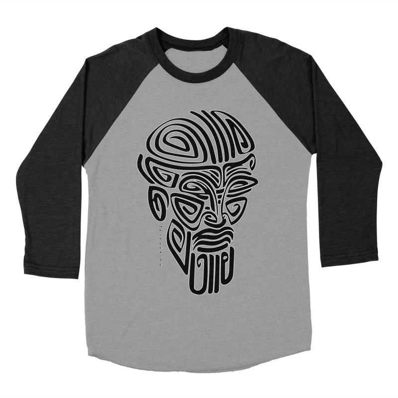TRIBAL LINEAR Women's Baseball Triblend Longsleeve T-Shirt by  SAMSKARA