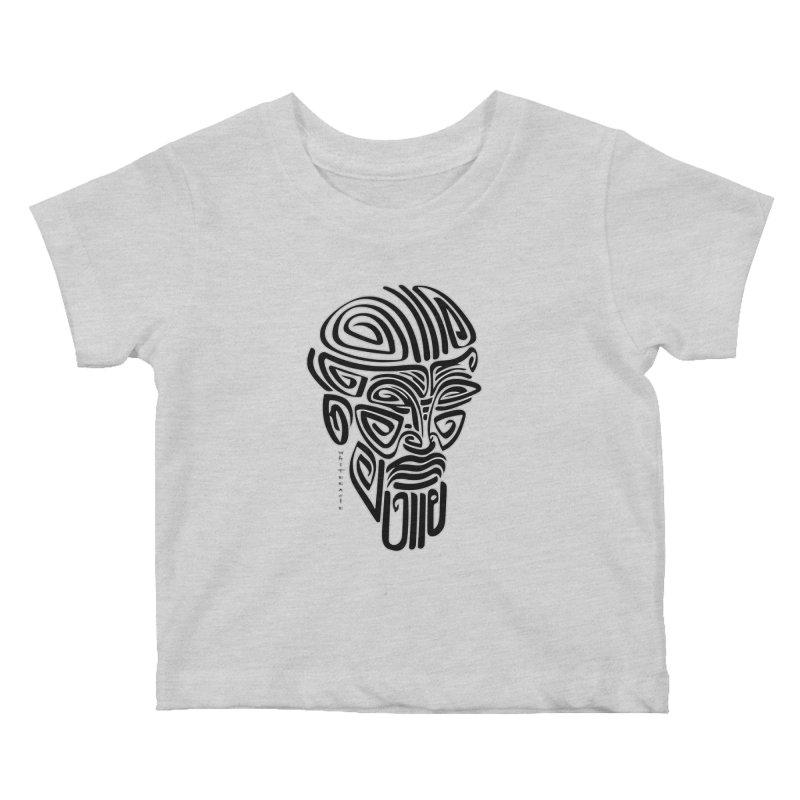 TRIBAL LINEAR Kids Baby T-Shirt by  SAMSKARA