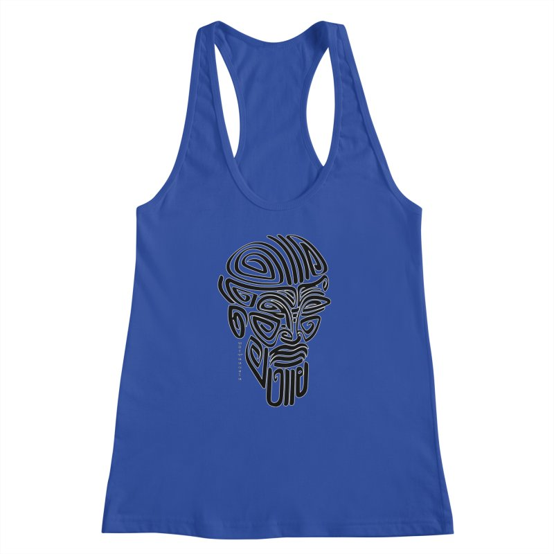 TRIBAL LINEAR Women's Racerback Tank by  SAMSKARA