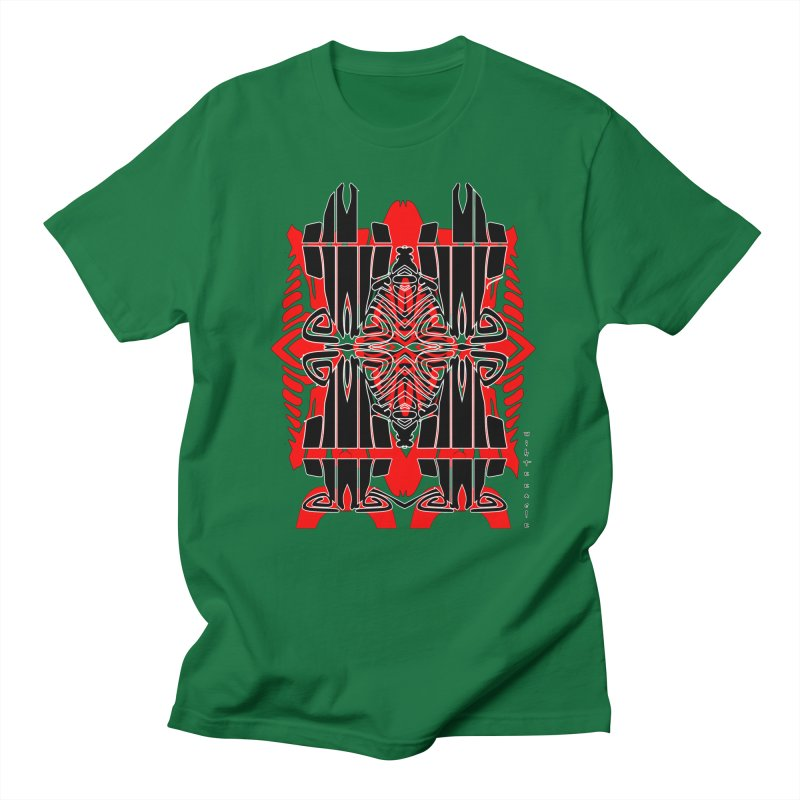 Tribal Linear Men's Regular T-Shirt by  SAMSKARA