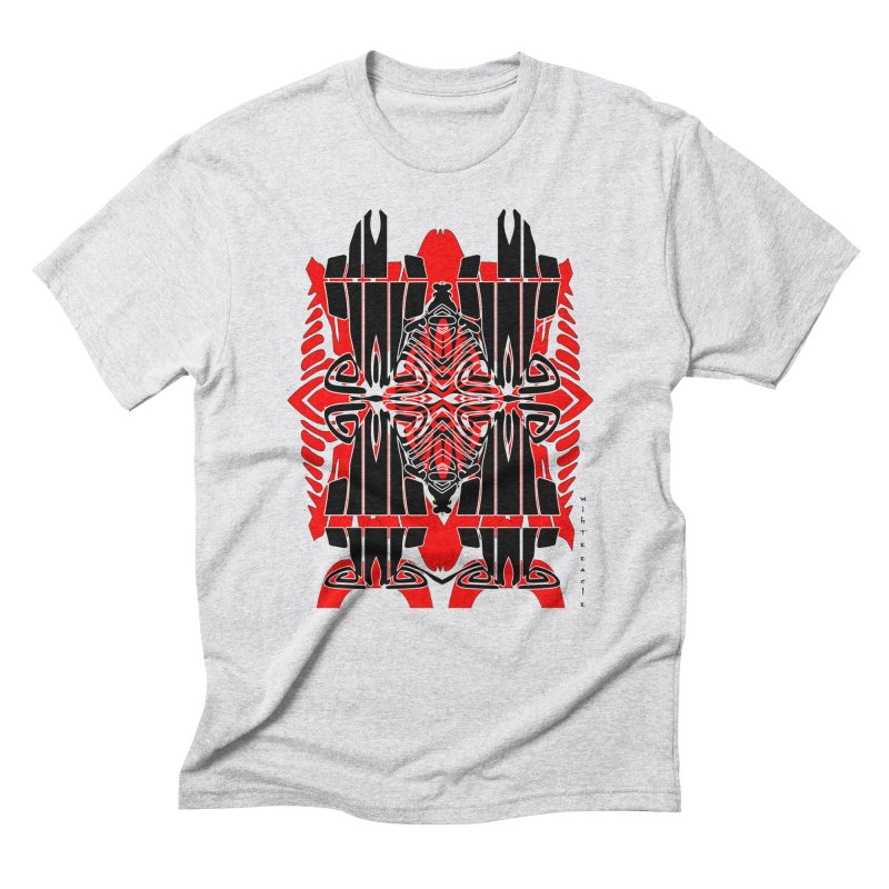 Tribal Linear Men's Triblend T-Shirt by  SAMSKARA