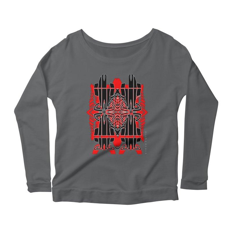 Tribal Linear Women's Scoop Neck Longsleeve T-Shirt by  SAMSKARA