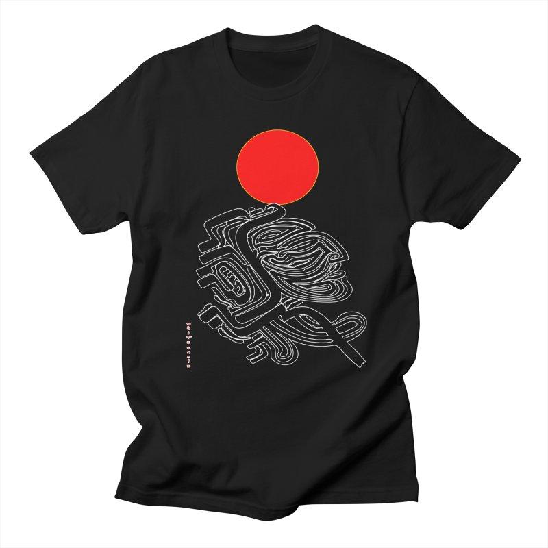 RedQueen Men's Regular T-Shirt by  SAMSKARA