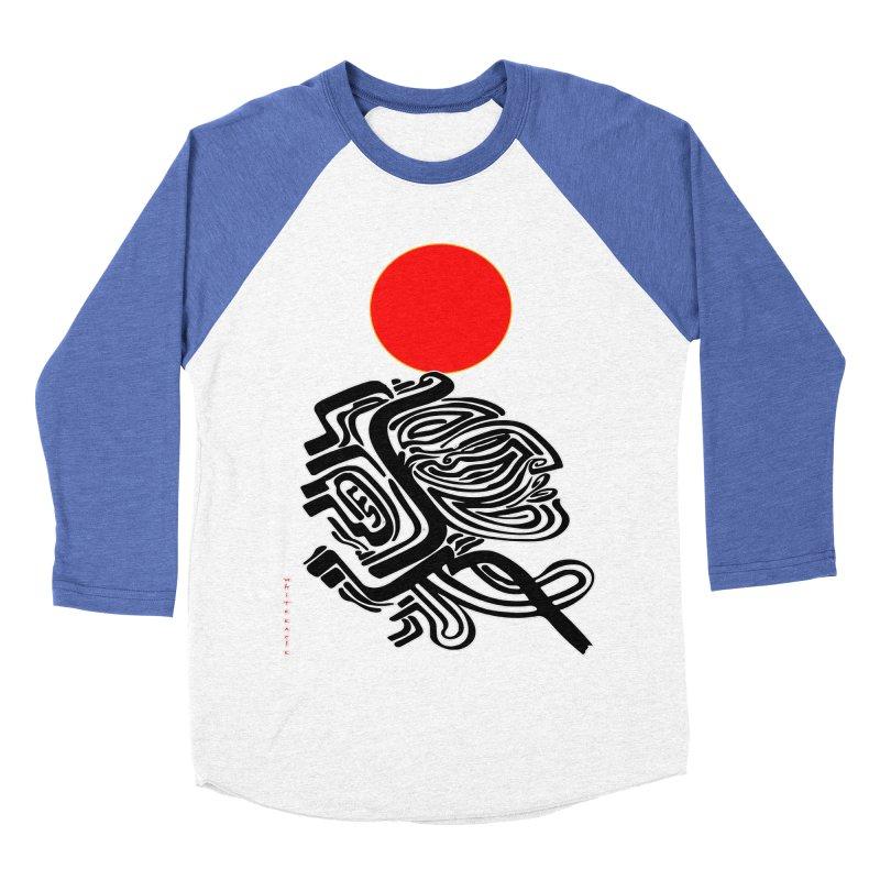 RedQueen Men's Baseball Triblend Longsleeve T-Shirt by  SAMSKARA