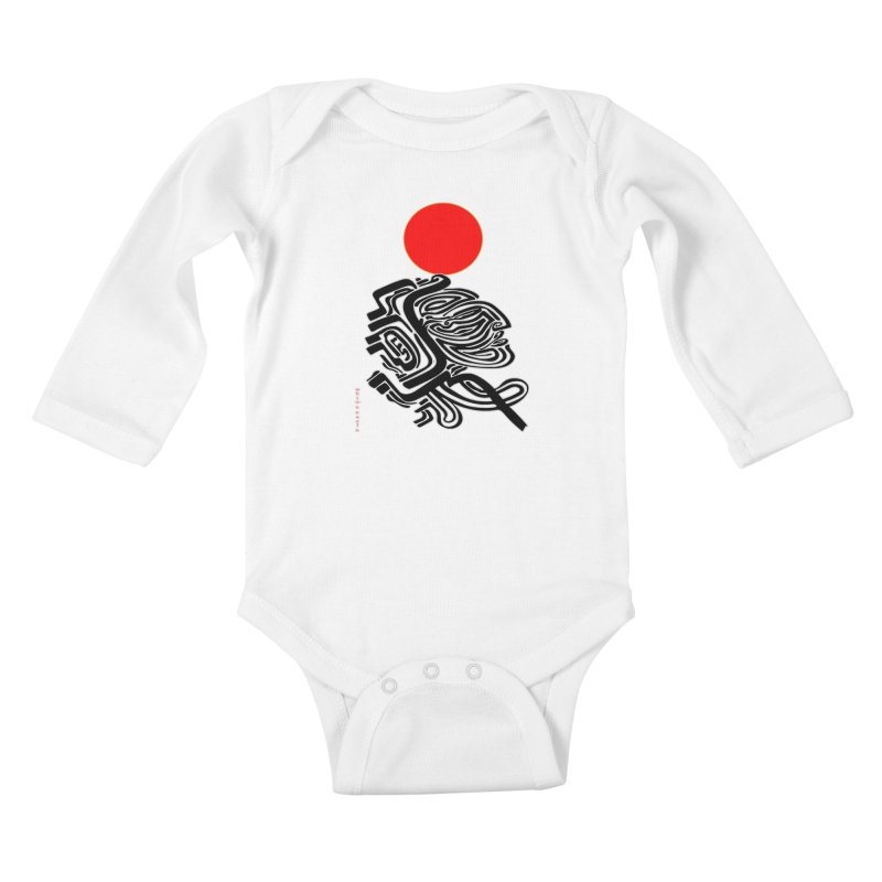 RedQueen Kids Baby Longsleeve Bodysuit by  SAMSKARA
