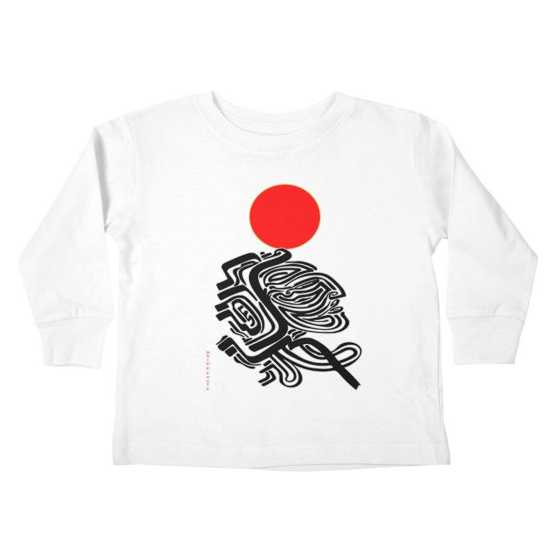 RedQueen Kids Toddler Longsleeve T-Shirt by  SAMSKARA