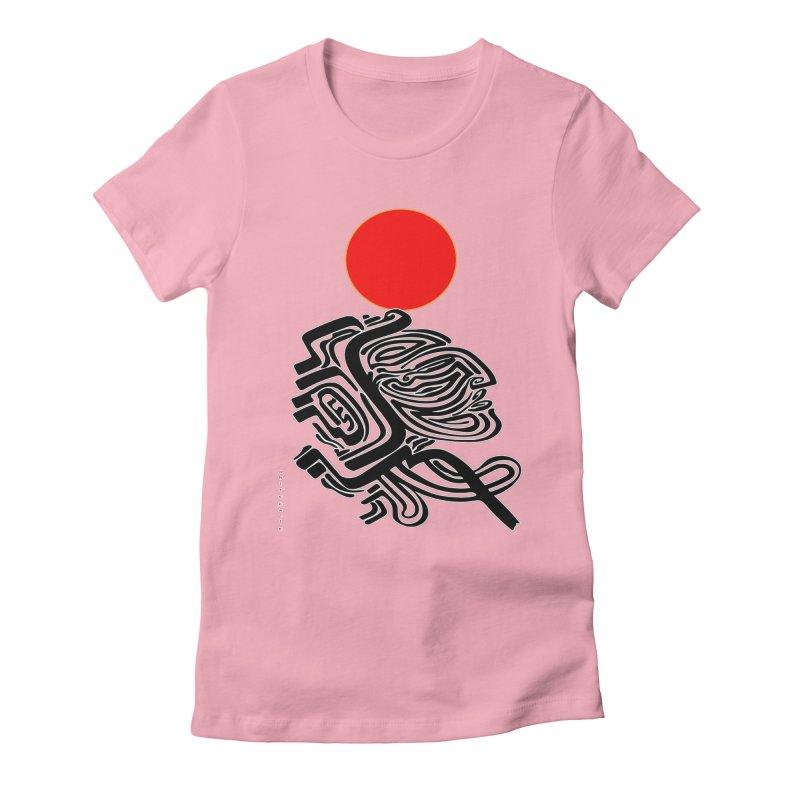 RedQueen Women's Fitted T-Shirt by  SAMSKARA