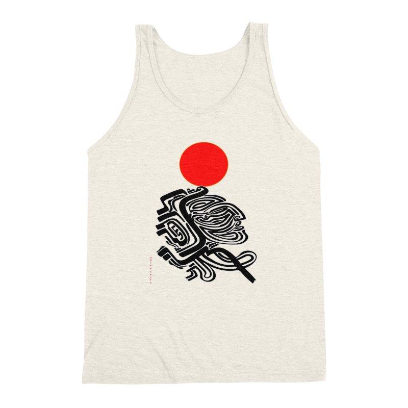 RedQueen Men's Triblend Tank by  SAMSKARA