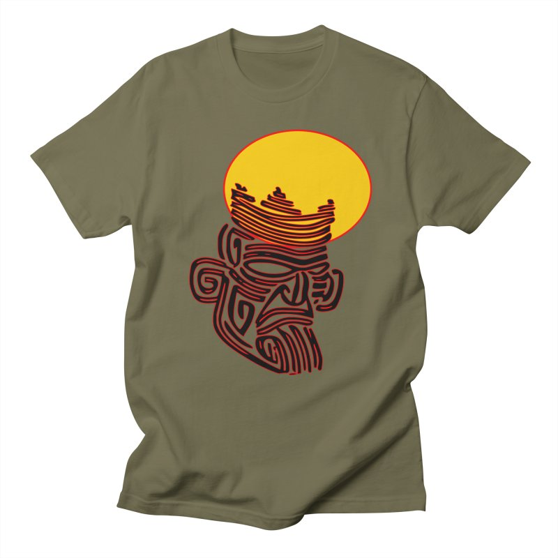 Ancestor Kings Men's Regular T-Shirt by  SAMSKARA